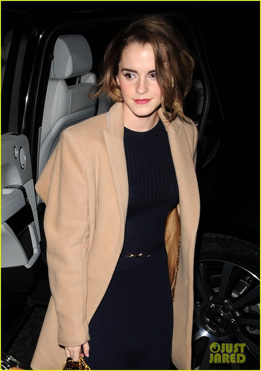 Emma Watson Shows Off Her Chic New Bob Haircut Photo 3526023