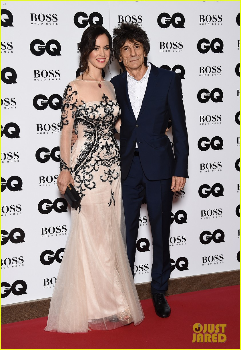rolling stones ronnie wood is expecting twins with wife sally 013525559