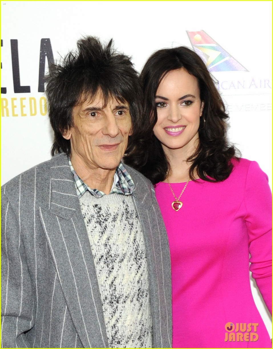 rolling stones ronnie wood is expecting twins with wife sally 043525562