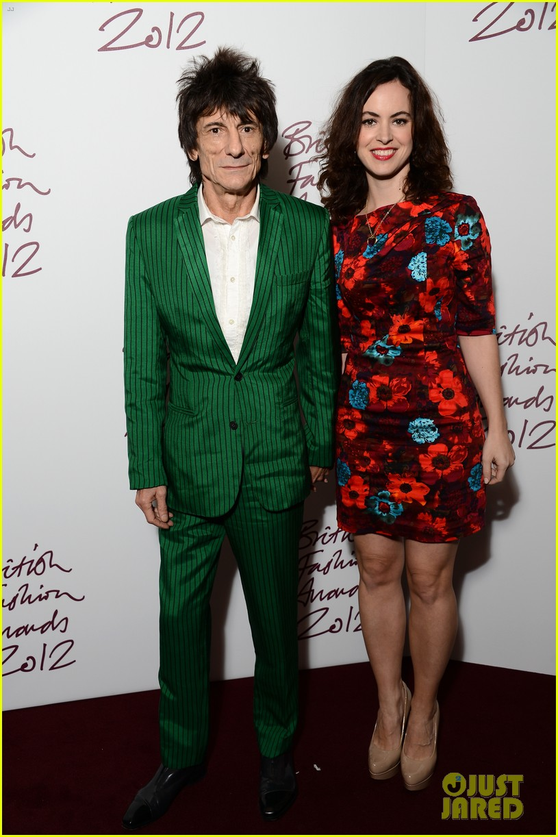 rolling stones ronnie wood is expecting twins with wife sally 103525568