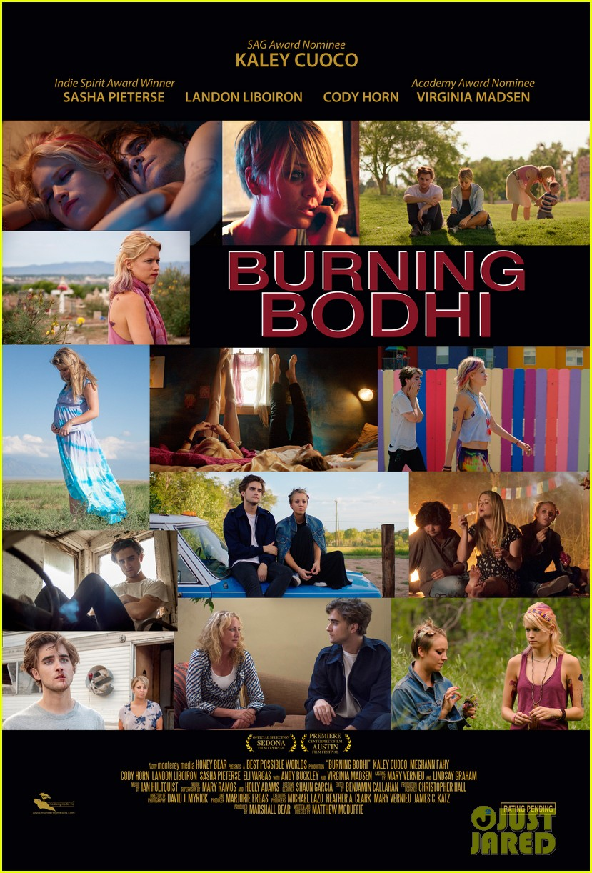 kaley cuoco burning bodhi poster exclusive 013550694