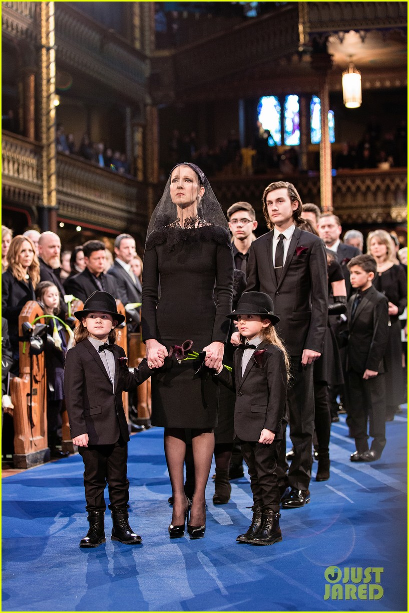 Celine Dion Releases Statement After Rene Angelil's Funeral: Photo ...