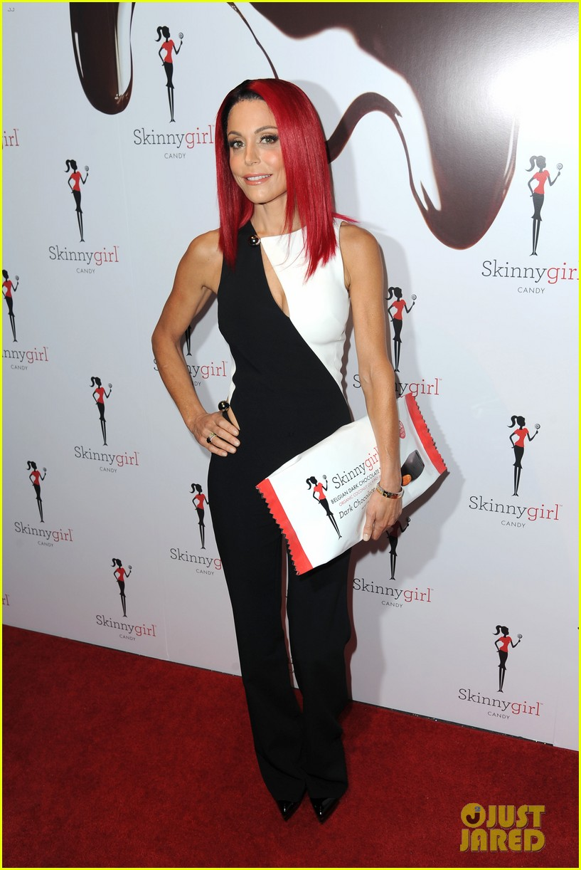 bethenny frankel debuts new red hair 073560856