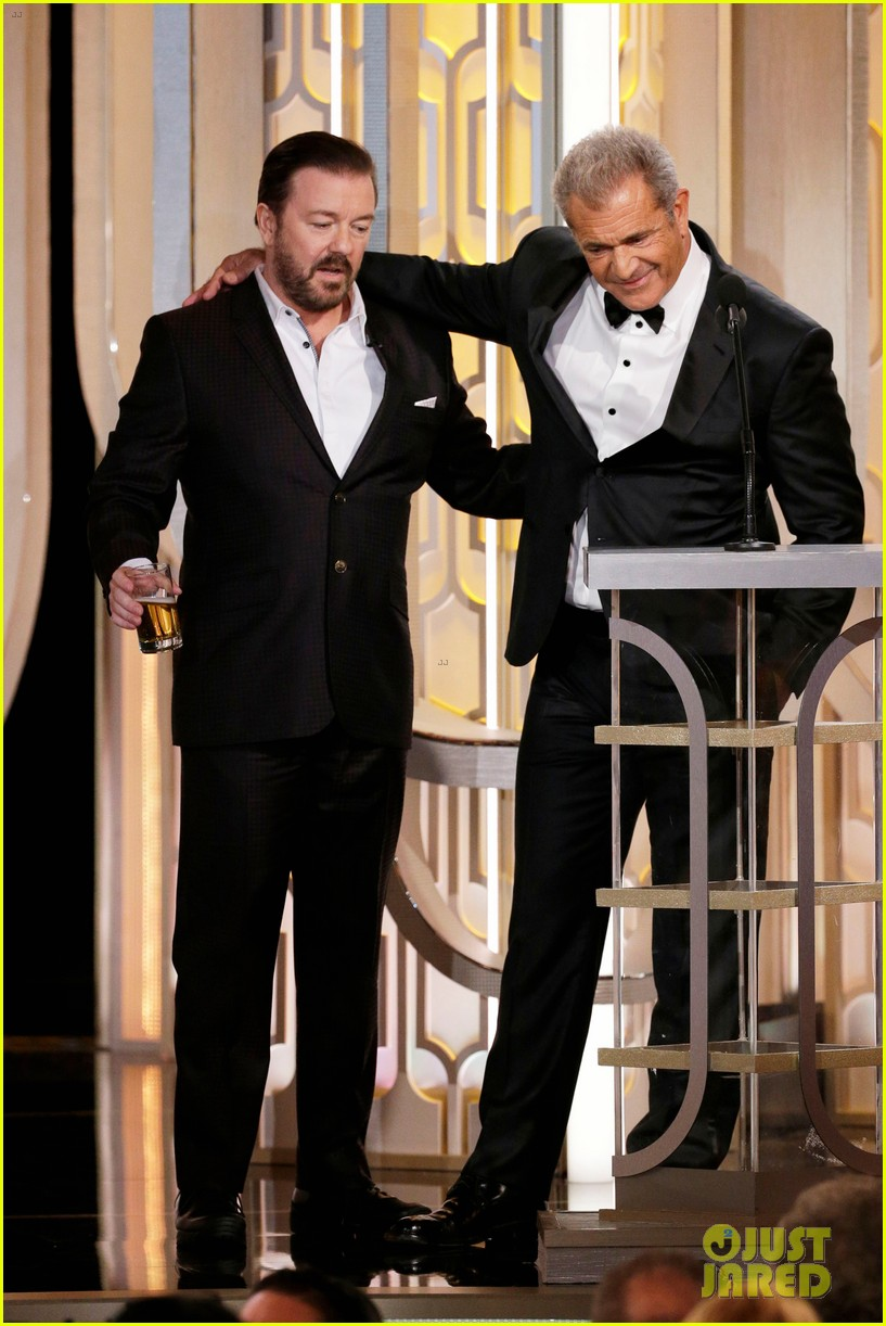 mel gibson ricky gervais golden globes 2016 full video 013549005