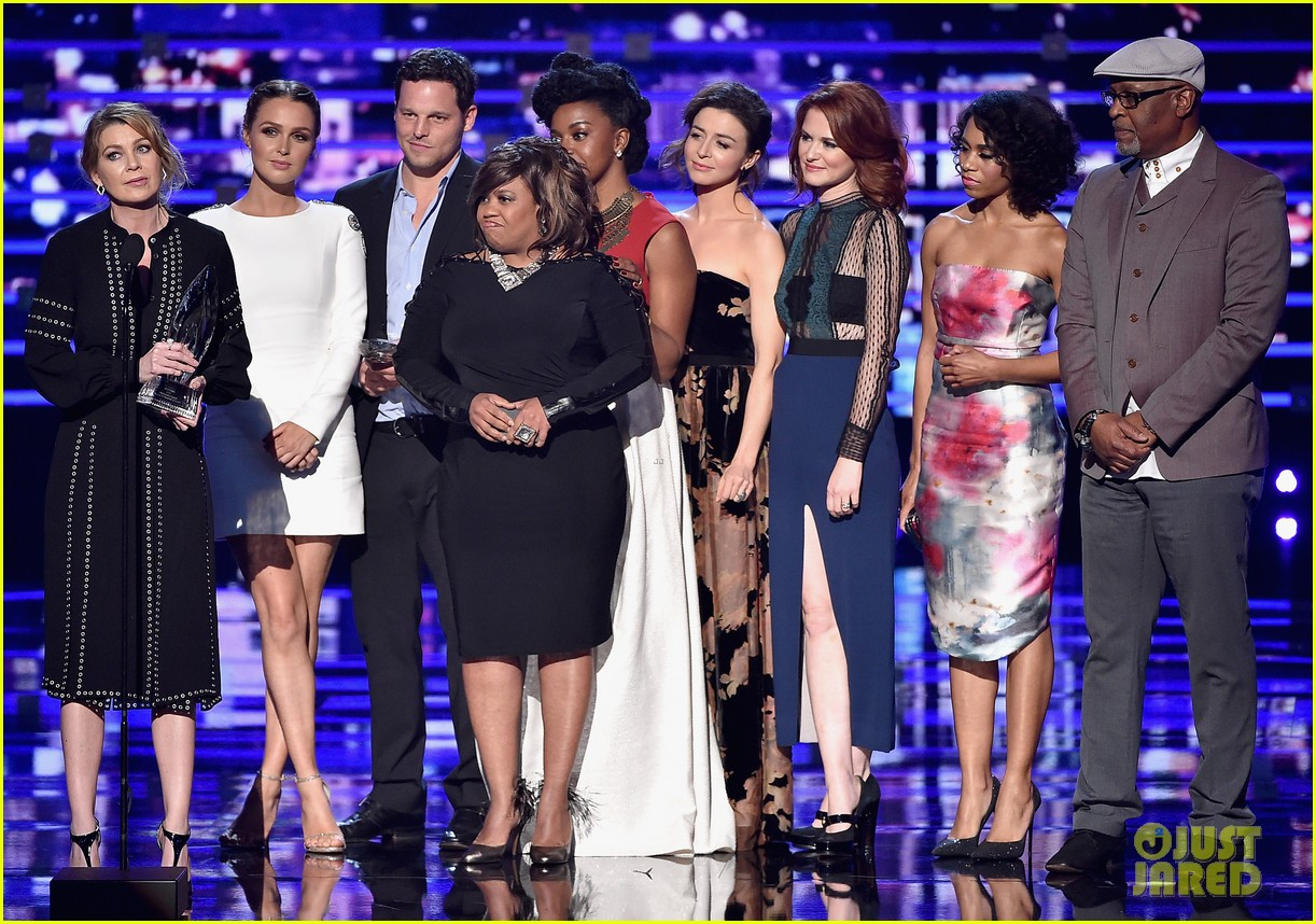 Ellen Pompeo & \'Grey\'s Anatomy\' Cast Win Favorite Network TV Drama ...