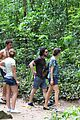 kit harington plays tourist in brazil rain forest 43