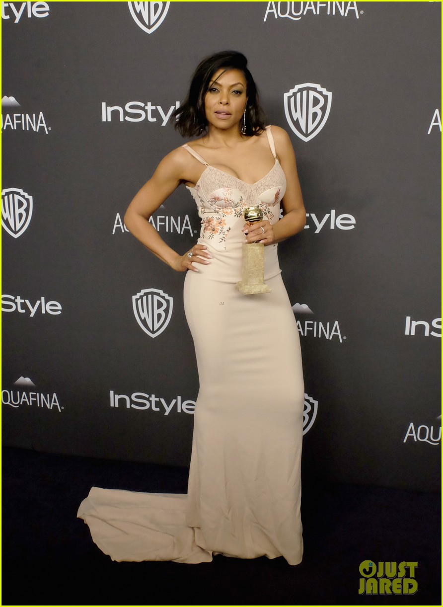 taraji p henson reveals why she handed out cookies at golden globes 2016 113549696
