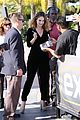 lily james and bella heathcote share an interesting snack 05