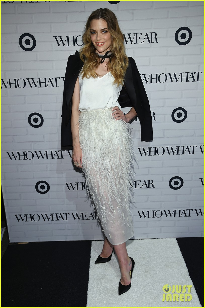ca985ba4f4 Jessica Alba Steps Out at 'Who What Wear' Target Launch Party With Kate  Bosworth & Jamie King