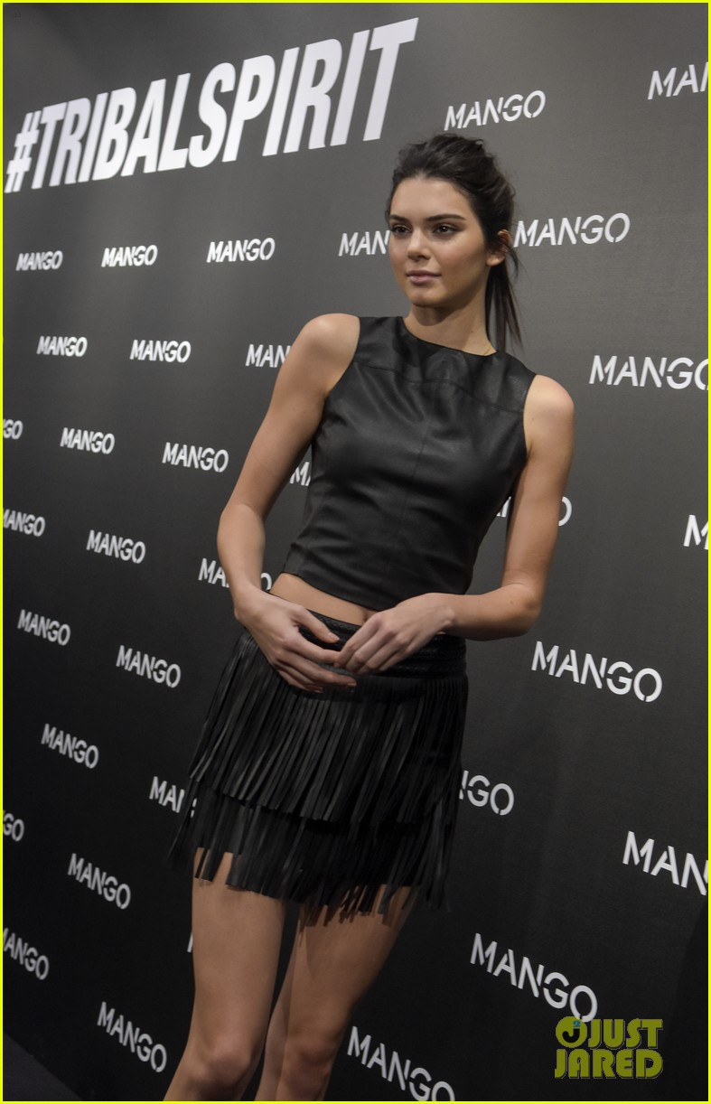 Kendall Jenner Will Star In Mango Tribal Spirit' Campaign images