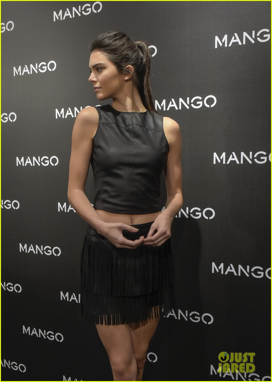 Kendall Jenner Will Star In Mango Tribal Spirit' Campaign Kendall Jenner Will Star In Mango Tribal Spirit' Campaign new images