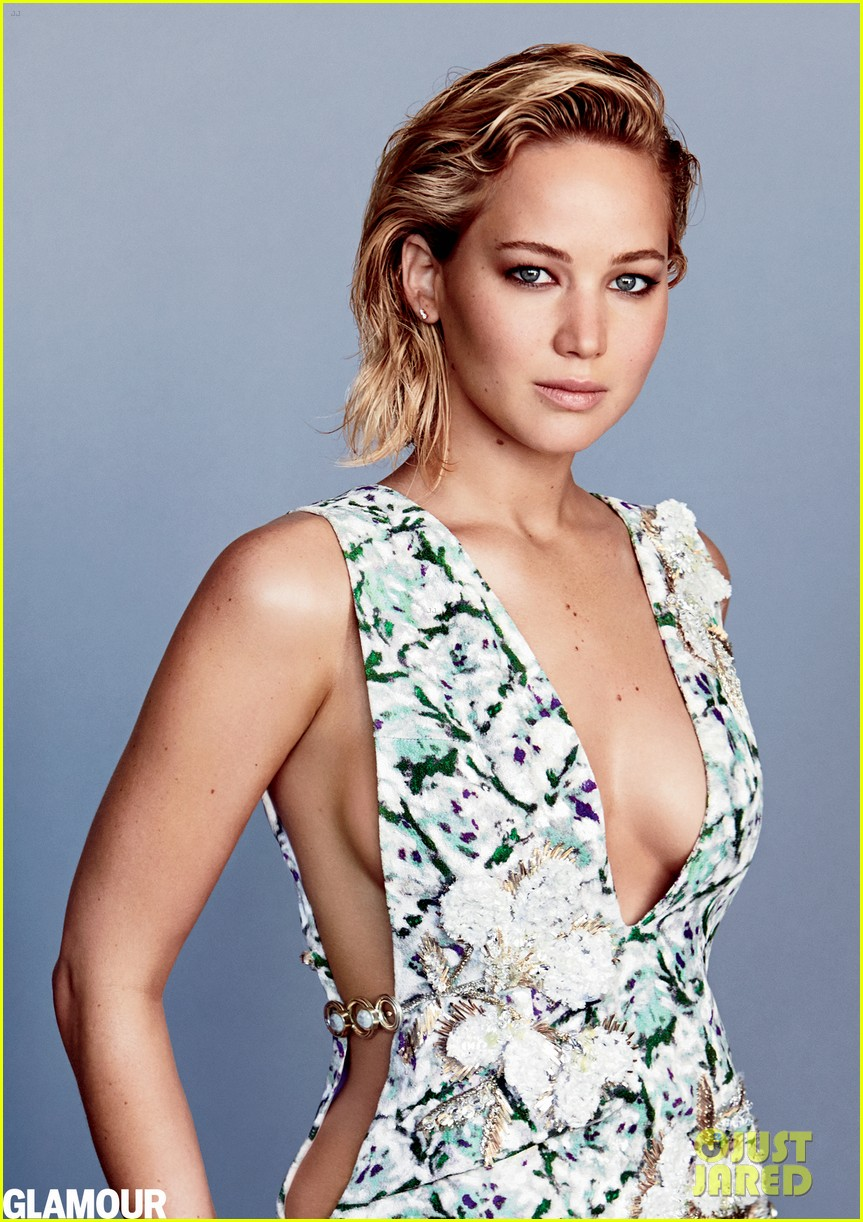 X-MEN Star Jennifer Lawrence Bares All In Hot New Glamour ...
