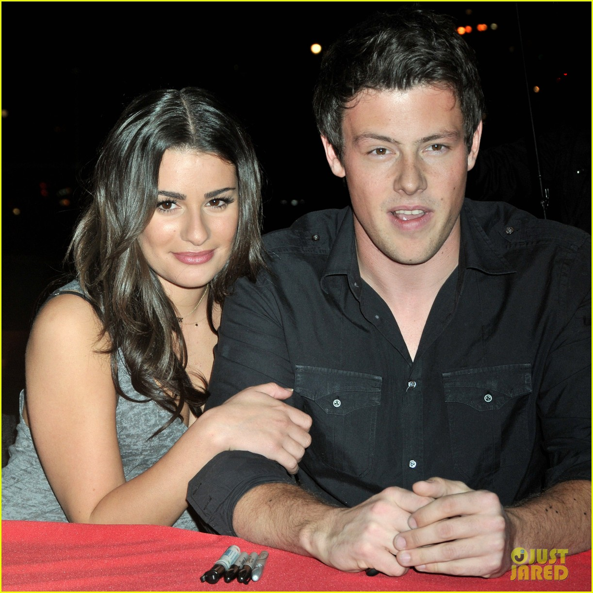 lea michele cory monteith would love matthew paetz 023543804