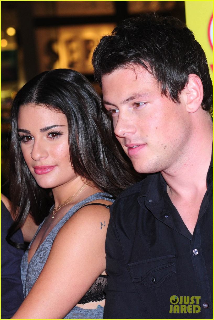 when did cory and lea start dating