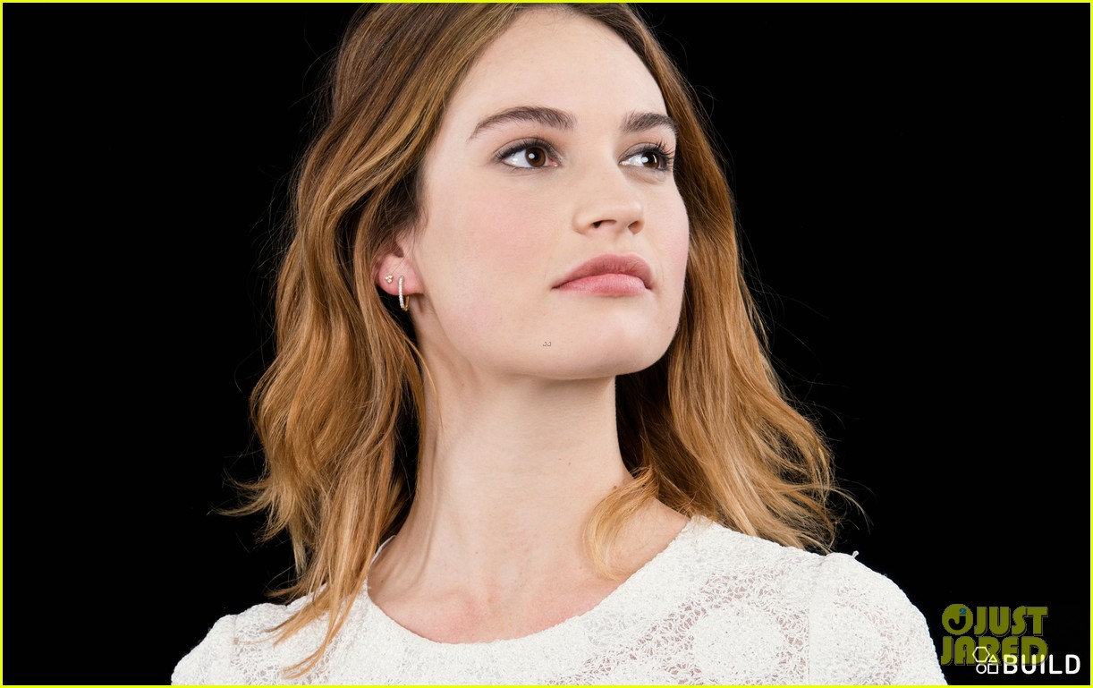 Lily James Wore a 'Boo...