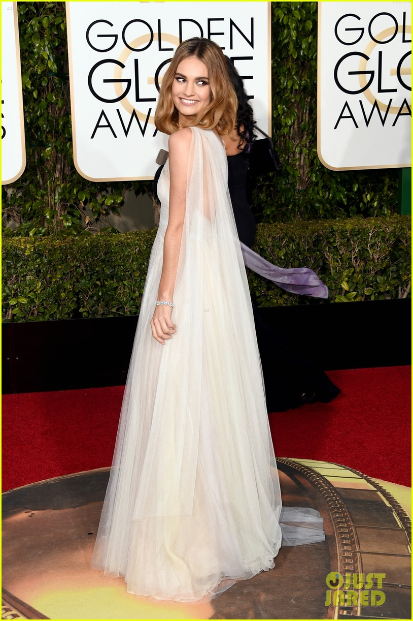 lily james joanne froggatt 2016 golden globes 013548538