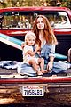 teresa palmer poses with son bodhi in grazia france spread 01