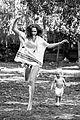 teresa palmer poses with son bodhi in grazia france spread 02