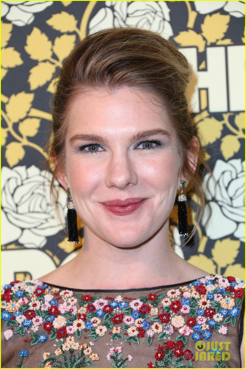 lily rabe chyenne jackson ahs cast live it up at golden globes 2016 263549472