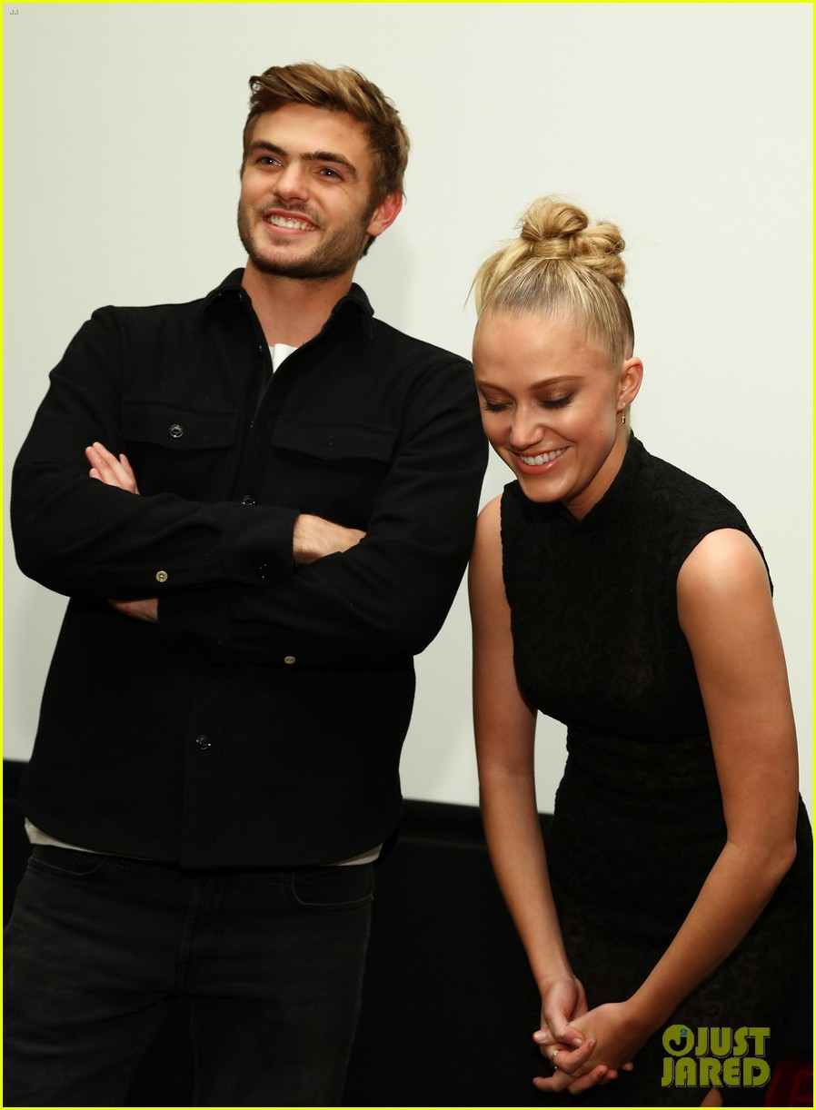 Alex Roe & Nick Robinson Hit Up 'The 5th Wave' Just Jared ...