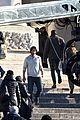 ruby rose and keanu reeves shoot john wick 2 13