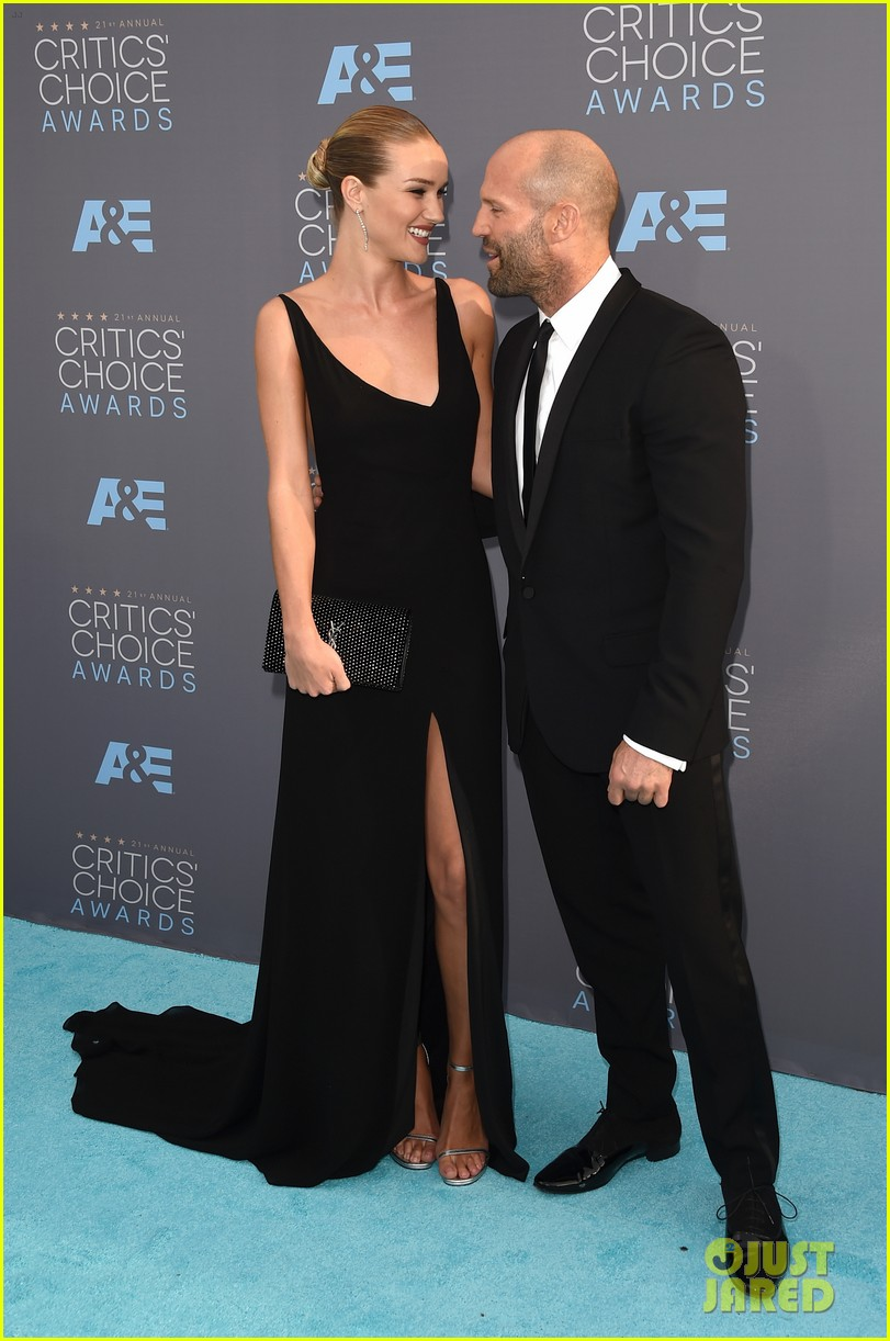 Rosie Huntington And Jason Statham 2016