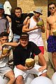 patrick schwarzenegger celebrates new years in the sun snow 01