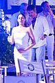 simon cowell lauren silverman kiss 2015 new years eve 25