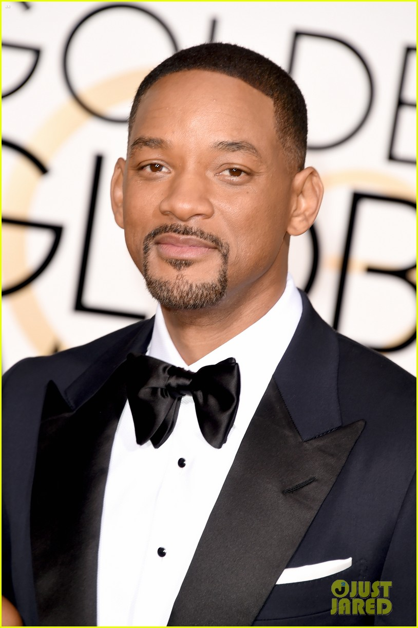 will smith jada pinkett smith golden globes 2016 043548527 Will Smith