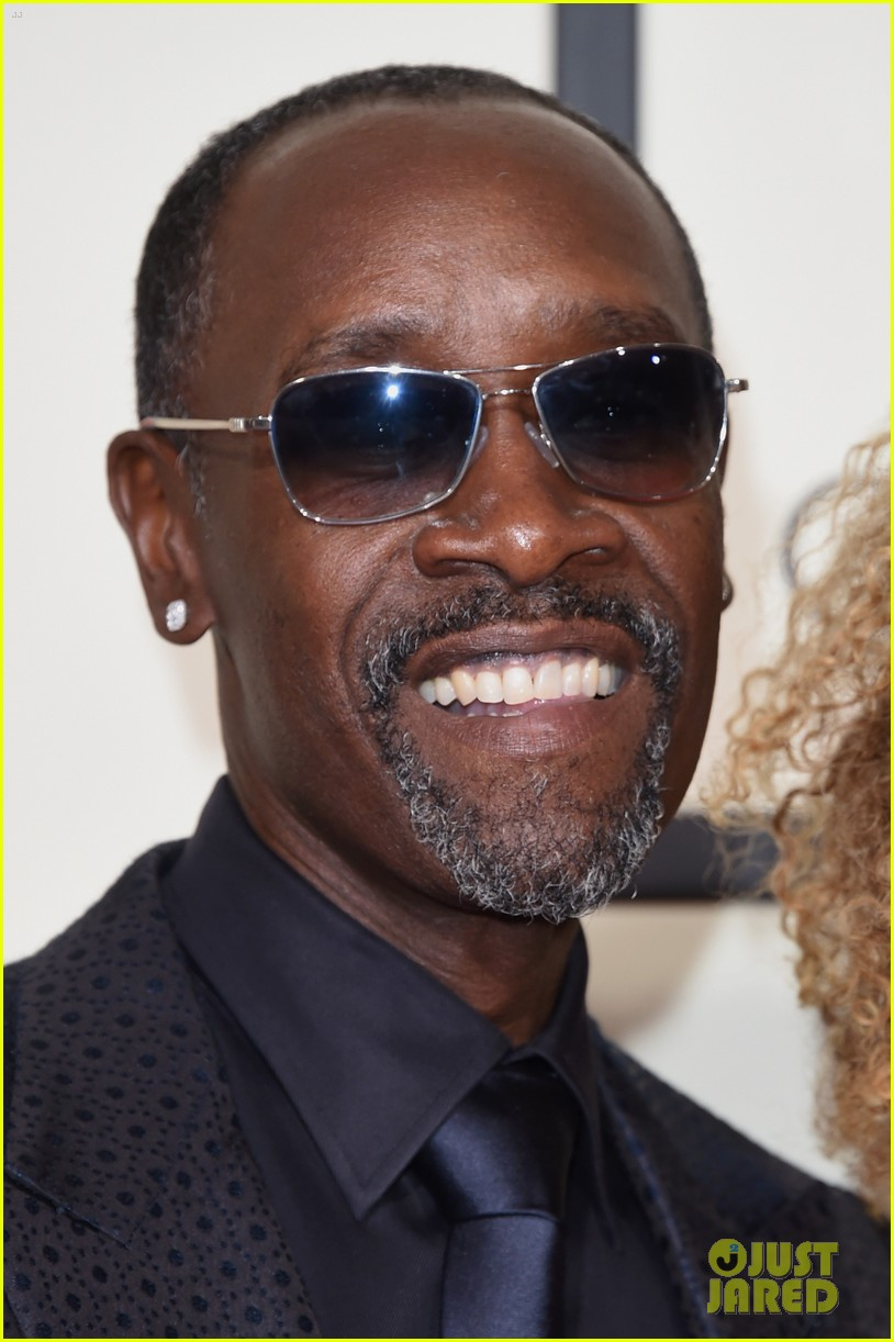 Don Cheadle Brings Partner Bridgid Coulter to Grammys 2016 ...
