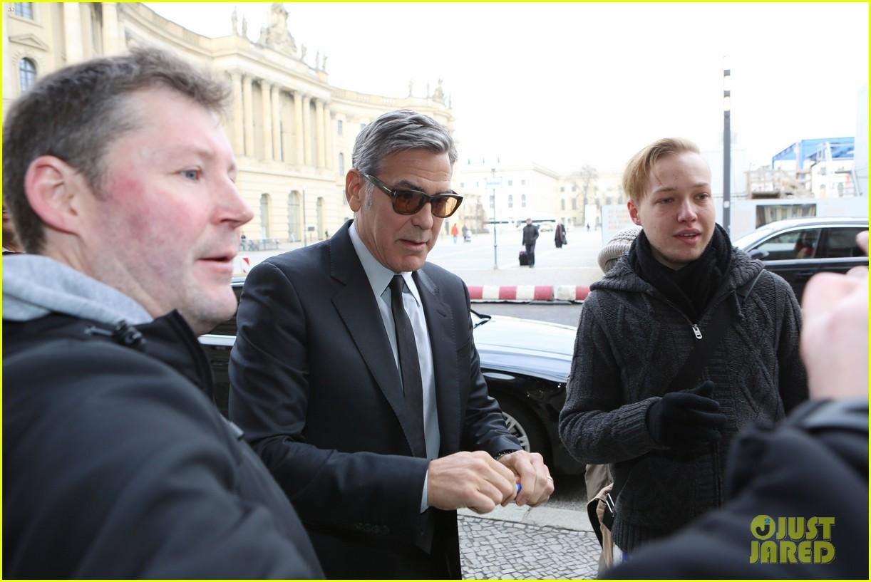 george clooney amal meet with german chancellor angela merkel 093576026