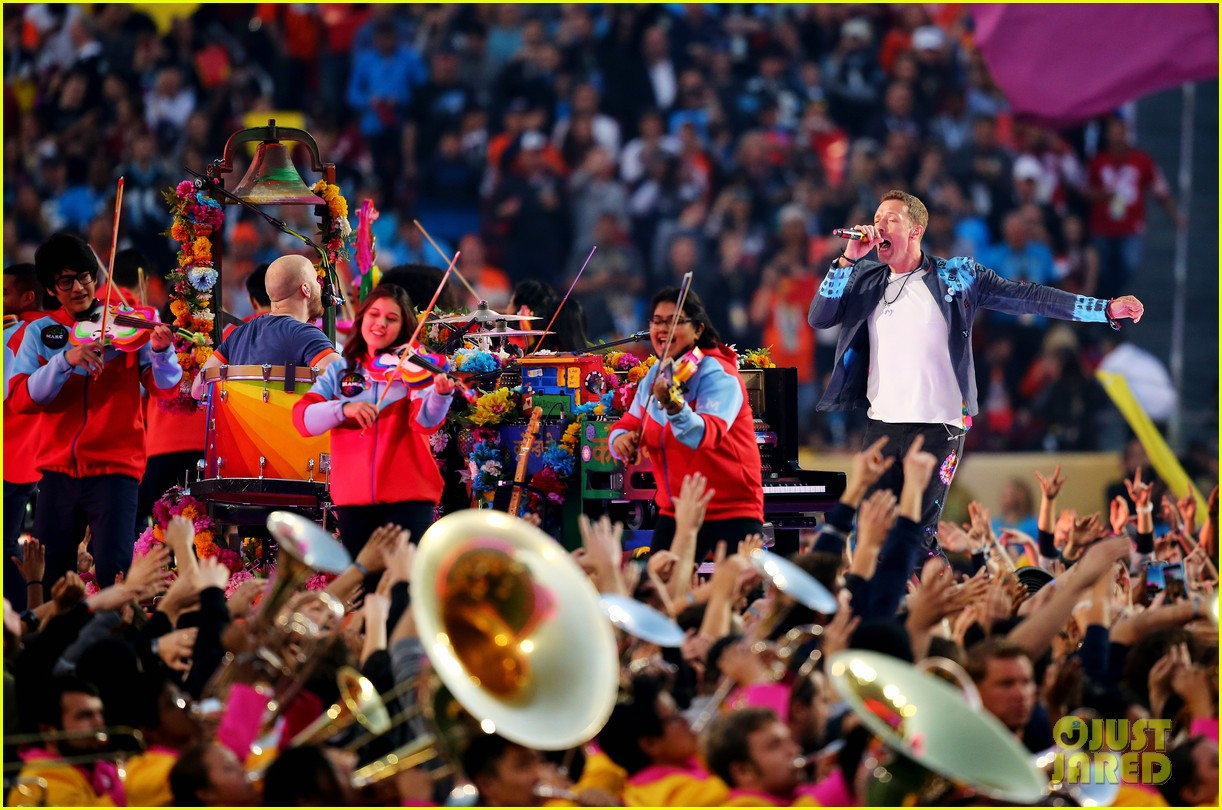 Full Sized Photo of coldplay super bowl halftime show 2016 ...