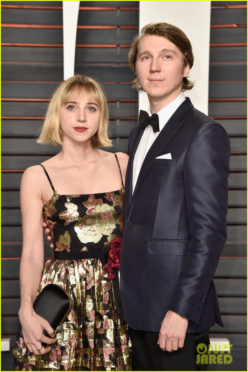paul dano lily rabe vanity fair oscar party 2016 063593760