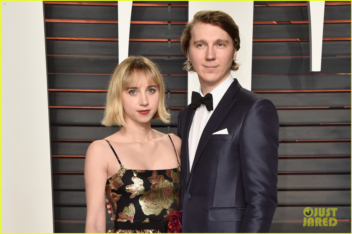 paul dano lily rabe vanity fair oscar party 2016 093593763