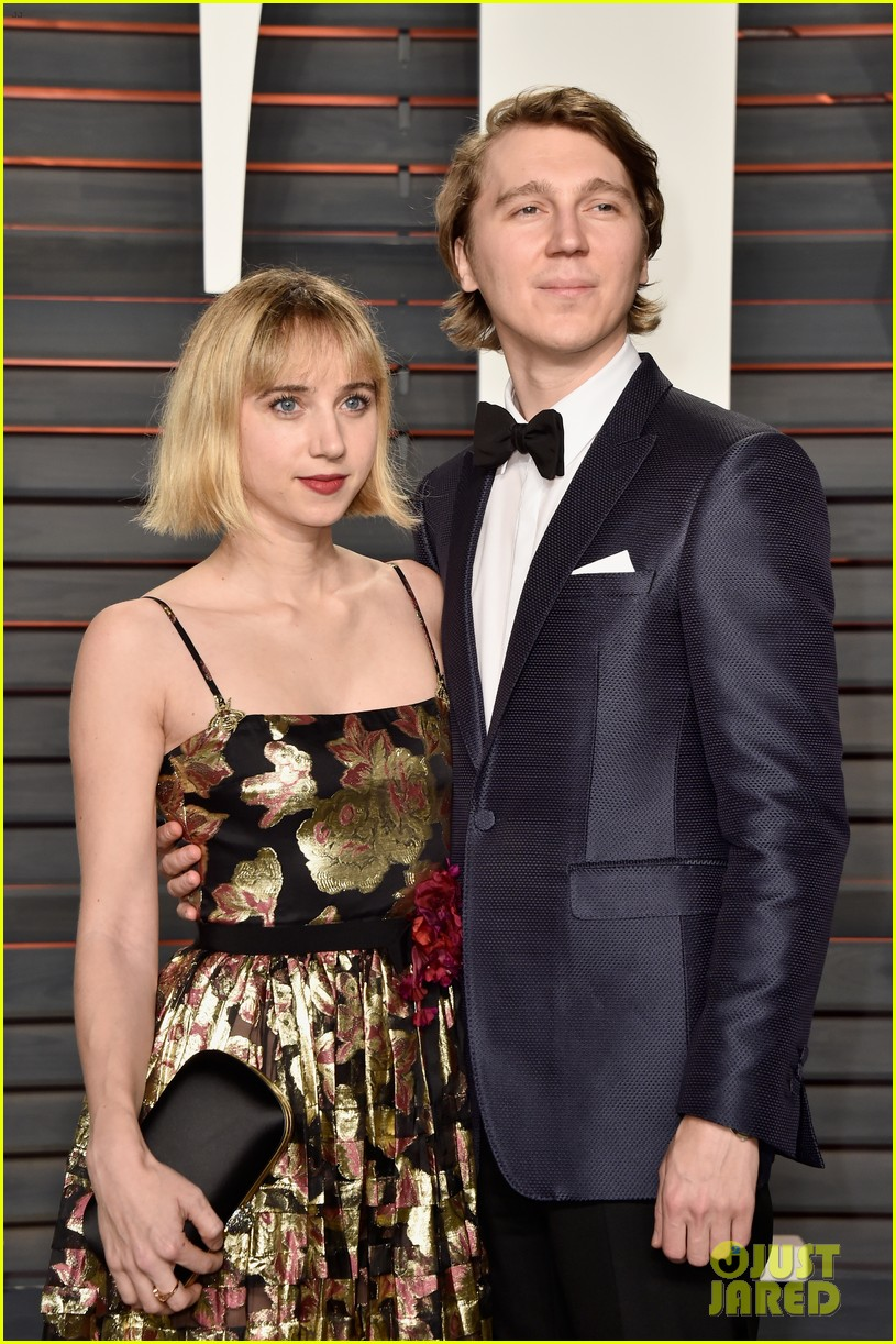 paul dano lily rabe vanity fair oscar party 2016 123593766