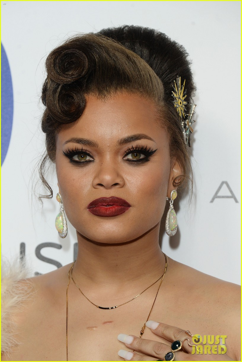 andra day celebrates debut grammy performance at warner music groups after party 093580511
