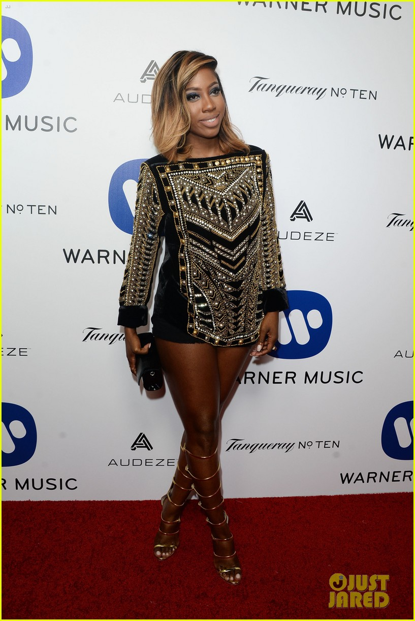 andra day celebrates debut grammy performance at warner music groups after party 123580514
