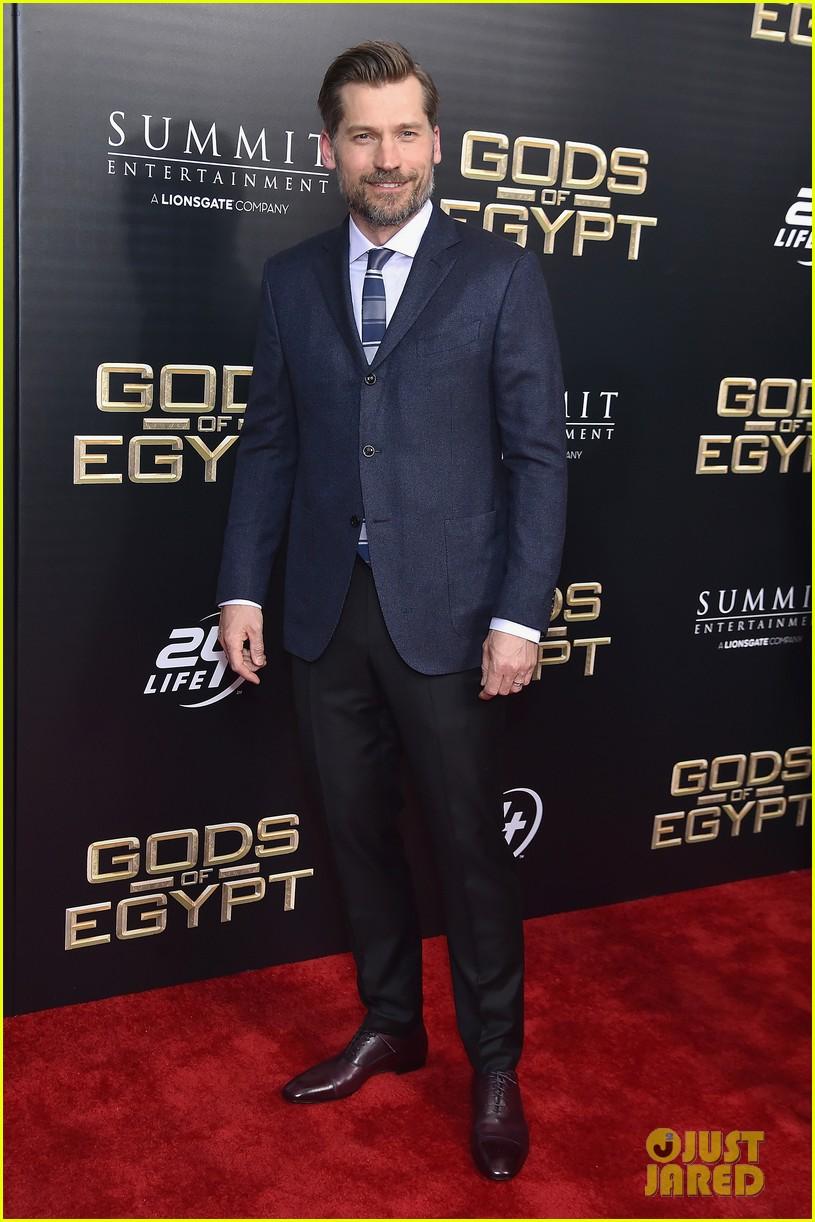 gerard butler nikolaj coster waldau gods egypt premiere nyc 073588229