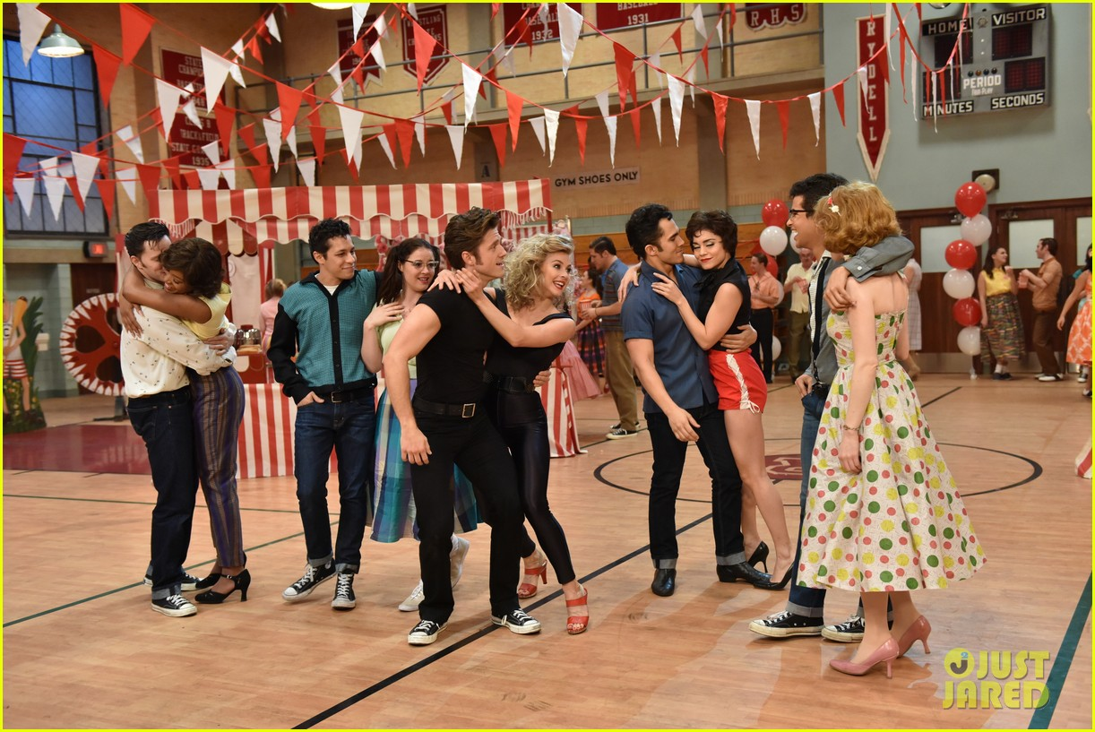 grease live full cast songs list 103566035