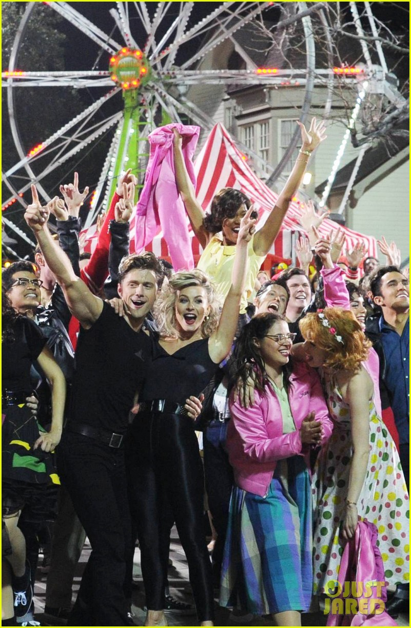 grease live full cast songs list 273566073