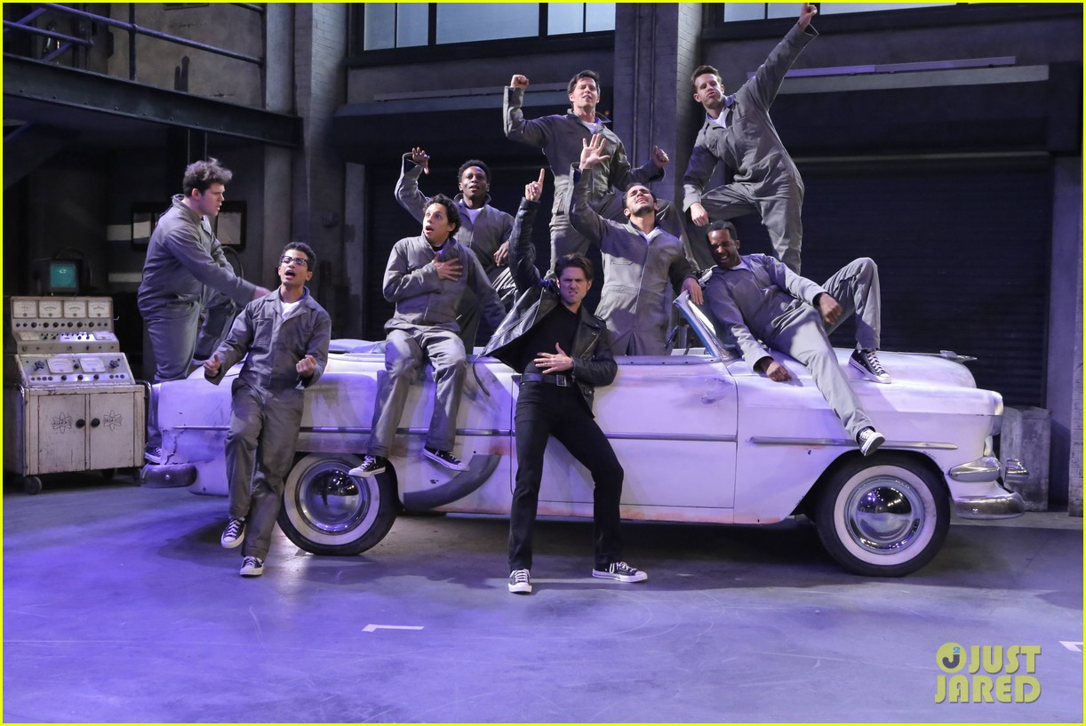 grease live full cast songs list 353566081
