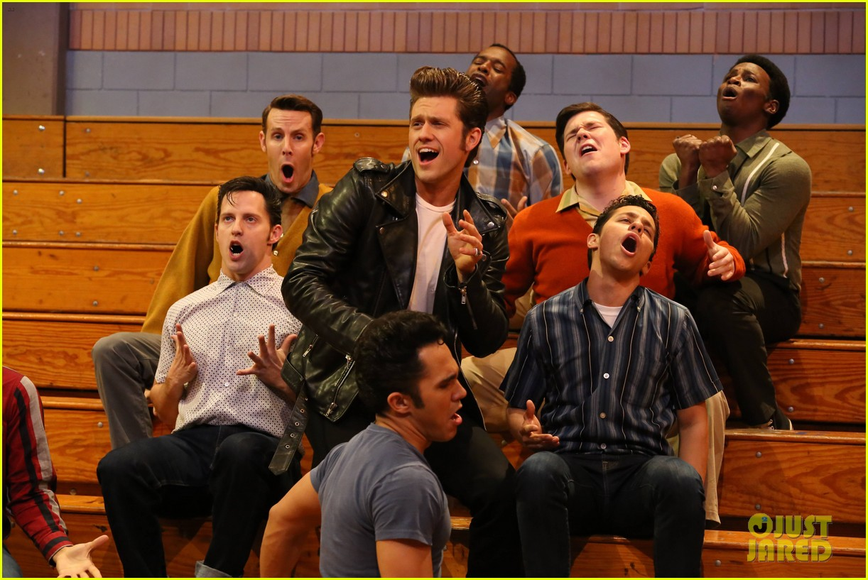 grease live full cast songs list 513566097