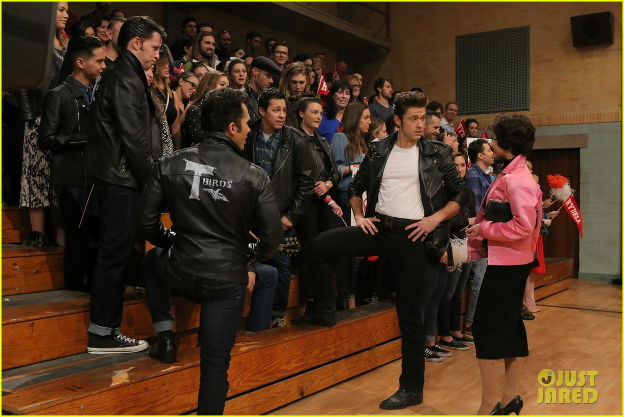 grease live full cast songs list 533566099