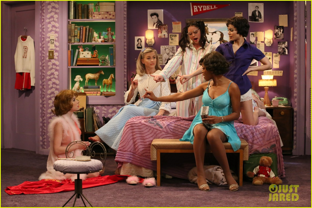 grease live full cast songs list 723566118