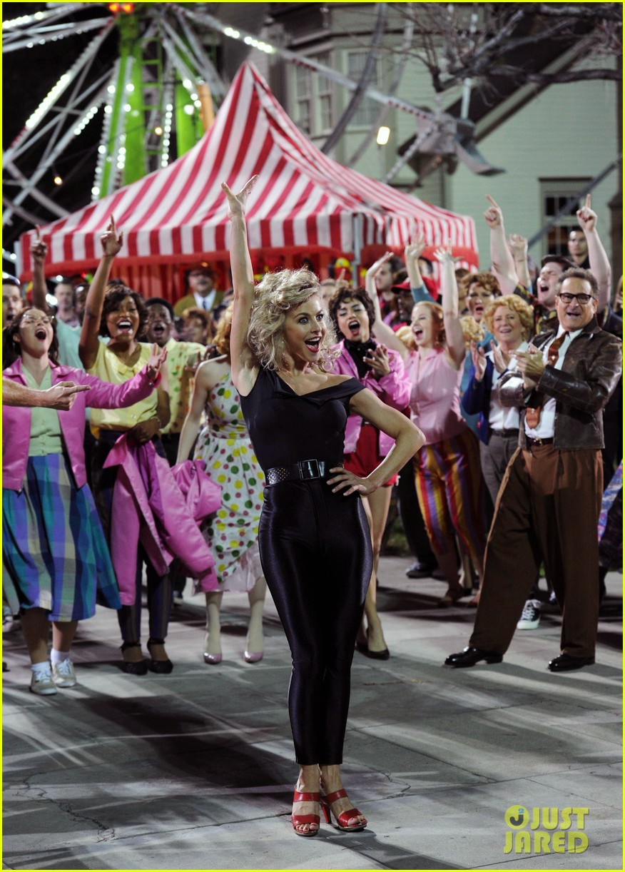 grease live watch every performance video 293566207