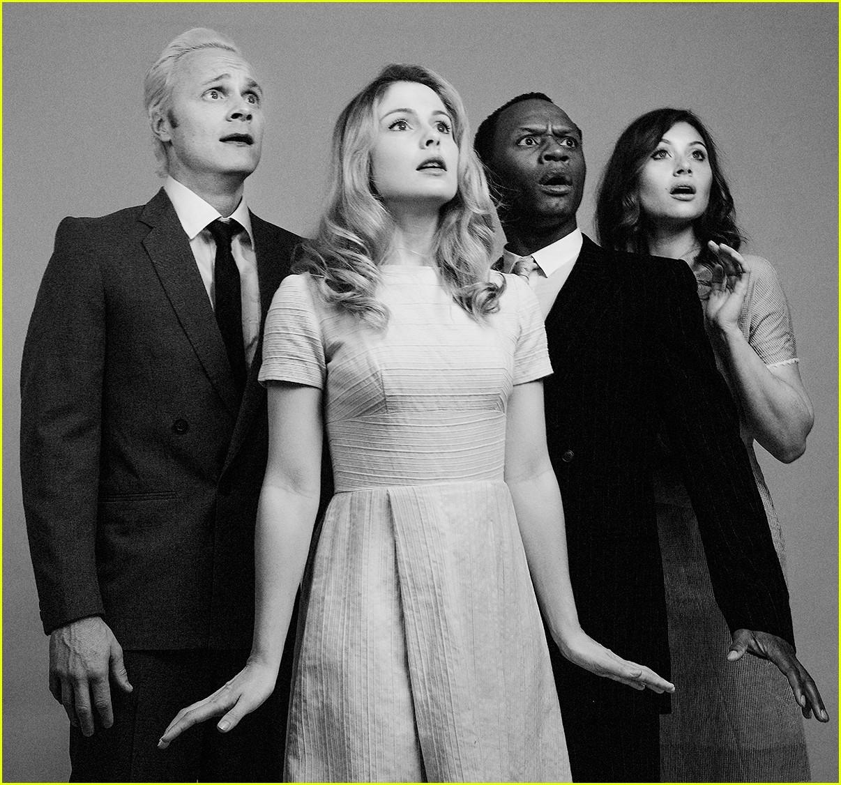 Rose mciver izombie cast go classic for new photo shoot
