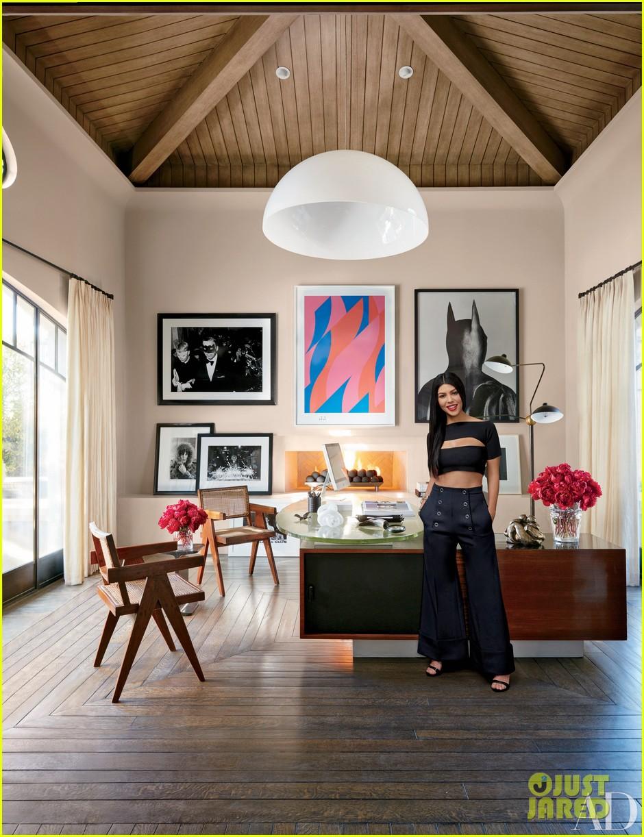 Kourtney U0026 Khloe Kardashian Show Off Their Homes In U0027Architectural Digestu0027