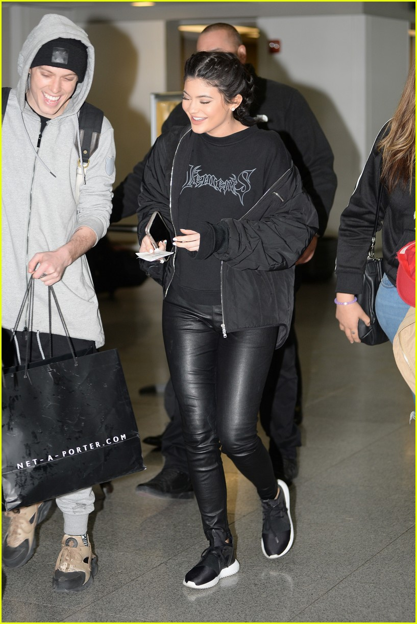 Kylie Jenner Steps Out in Adidas Just After Puma Deal