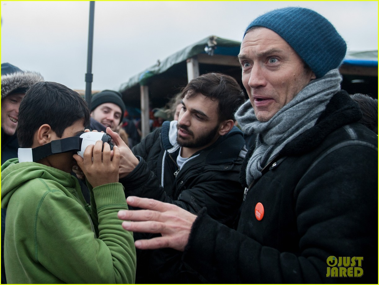 Watch Jude Law Visits A Calais Refugee Camp To Make An Important Appeal video