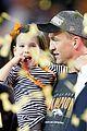 peyton mannings kids join him on super bowl 2016 field 05